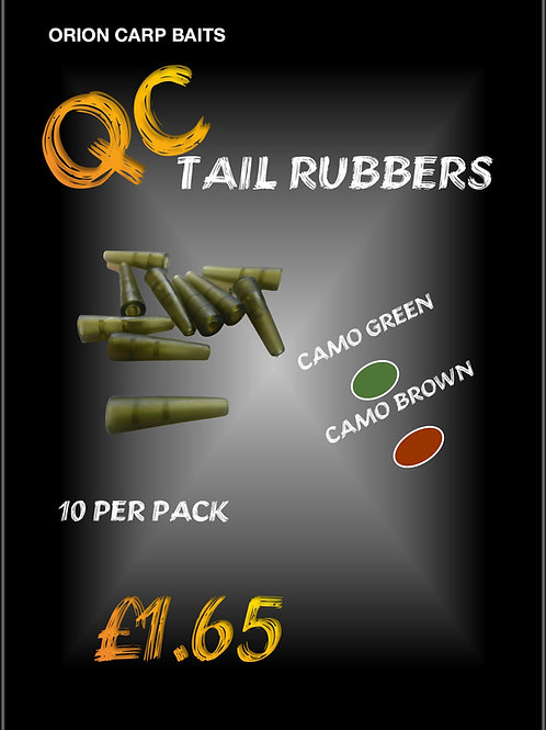 QC Hybrid Lead clip Tail Rubbers