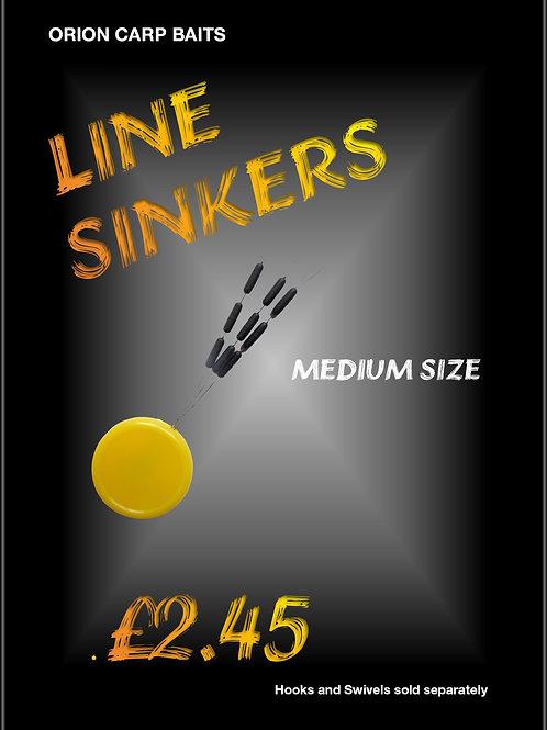 Tungsten Line Sinkers