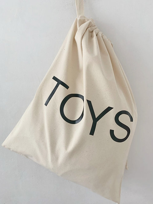 Drawstring Toy Bag