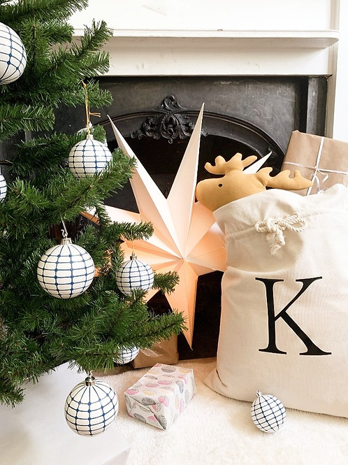 Christmas Sack - Natural Cotton
