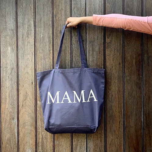 Mamas Large Shopper - Grey