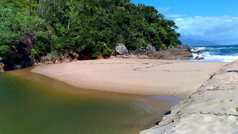 Praia da lagoa Ubatuba