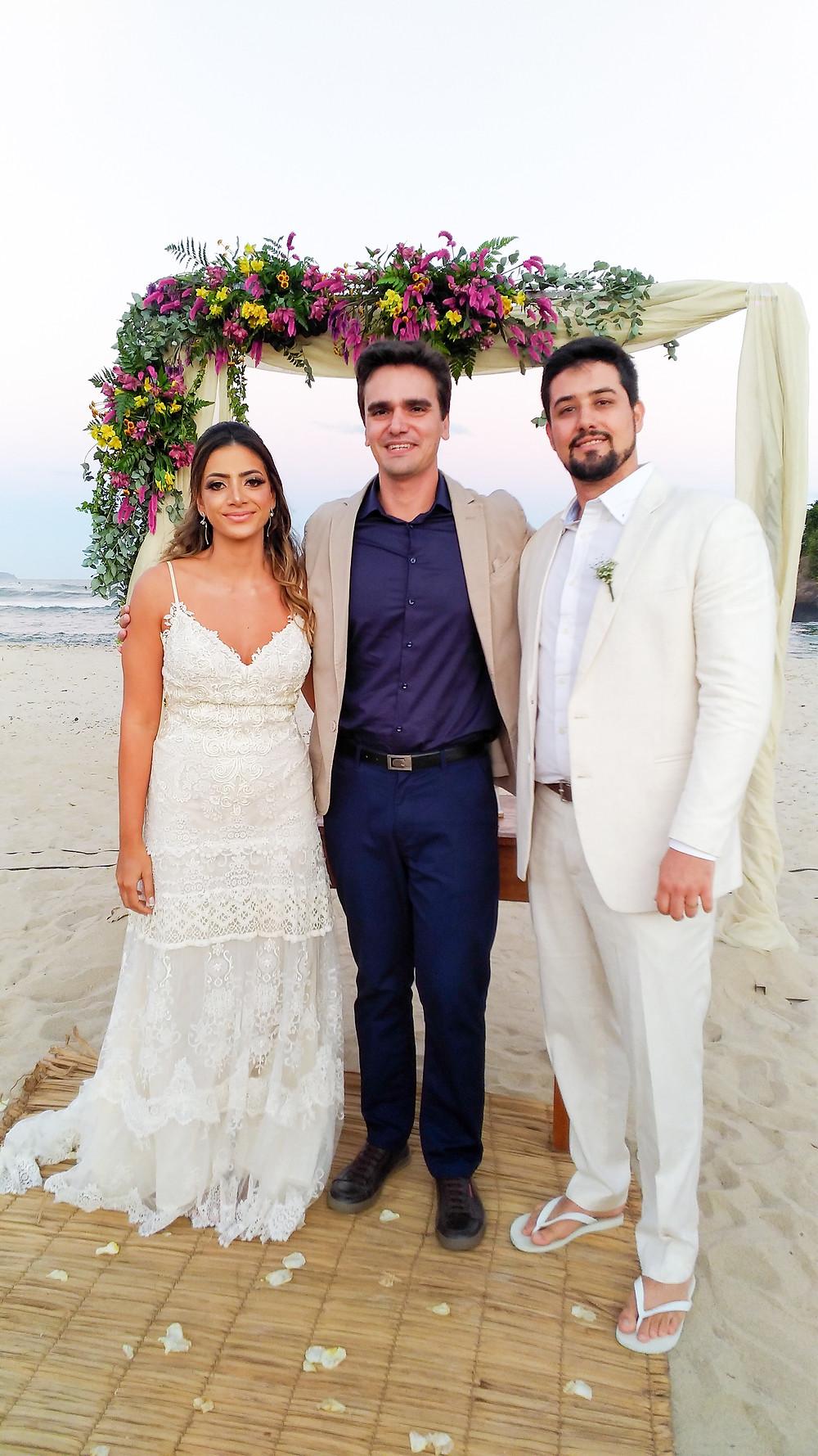 Casamento na praia Ubatuba