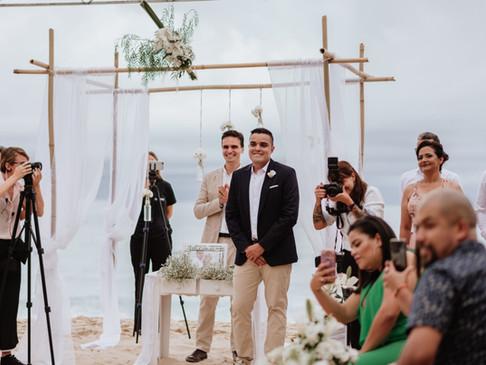 Casamento na praia em Ubatuba