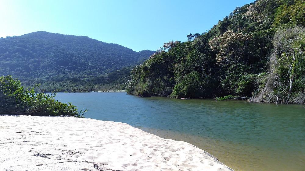 lagoon beach ubatuba