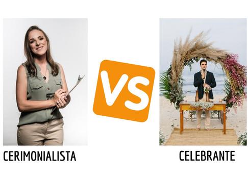 Qual a diferença entre cerimonialista e celebrante?