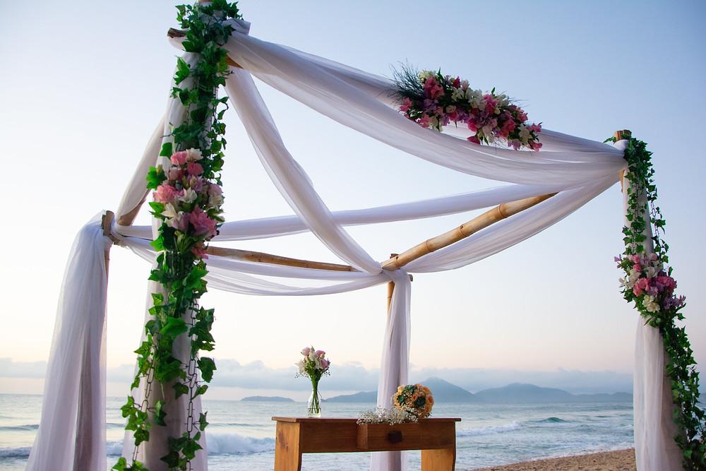 wedding decor ubatuba