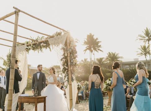 Celebrante de casamentos bilíngue