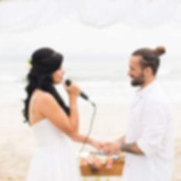 votos de casamento noiva