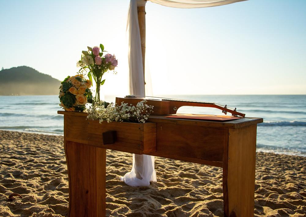 beach wedding ubatuba
