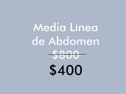 Depilación Láser 1/2 línea de abdomen