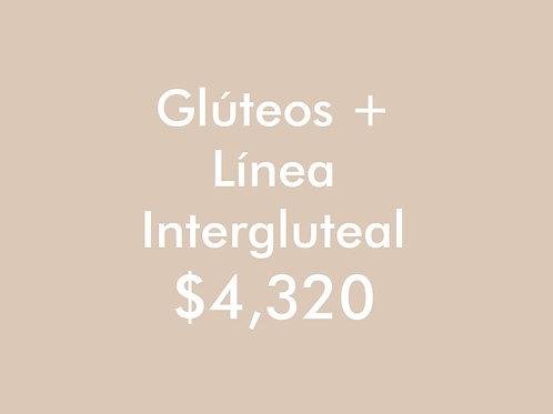 Glúteos + Línea Intergluteal (6 Sesiones)
