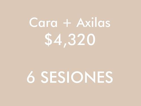 Cara + Axilas (6 Sesiones)