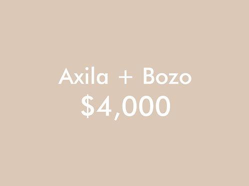 Axila + Bozo (6 Sesiones)