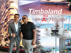 Timbaland is your neighbour at Aria On The Bay!