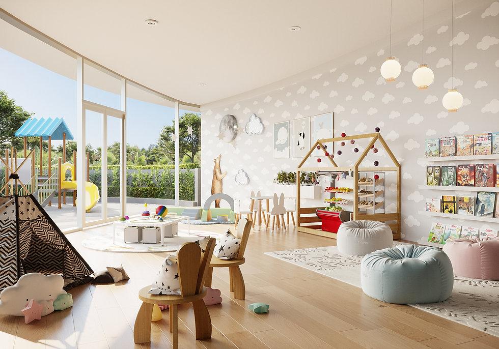 aria reserve miami kids playroom