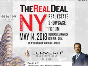 John Parsiani in NYC's The Real Deal Real Estate Showcase Forum