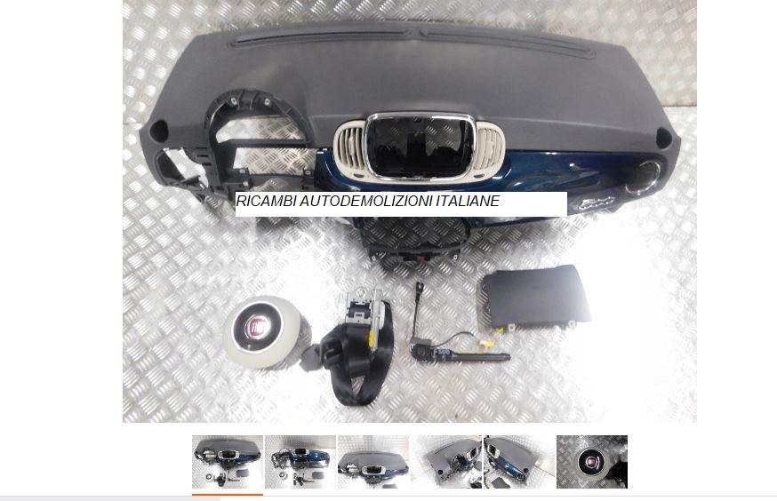 Kit Cruscotto Airbag Fiat 500 2018