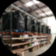 pgs warehouse pallet shelves