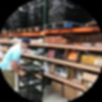 pgs warehouse shelves