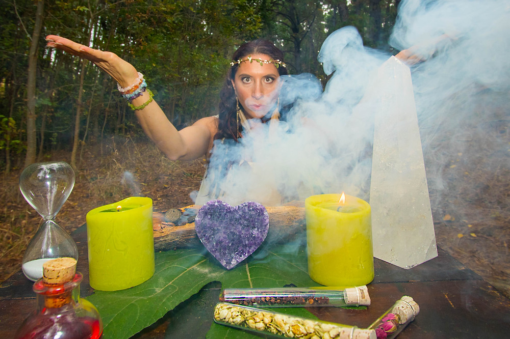 Casting a spell during Samhain