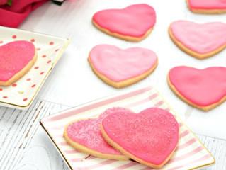 Valentine's Day Vegan Gluten Free Cookies