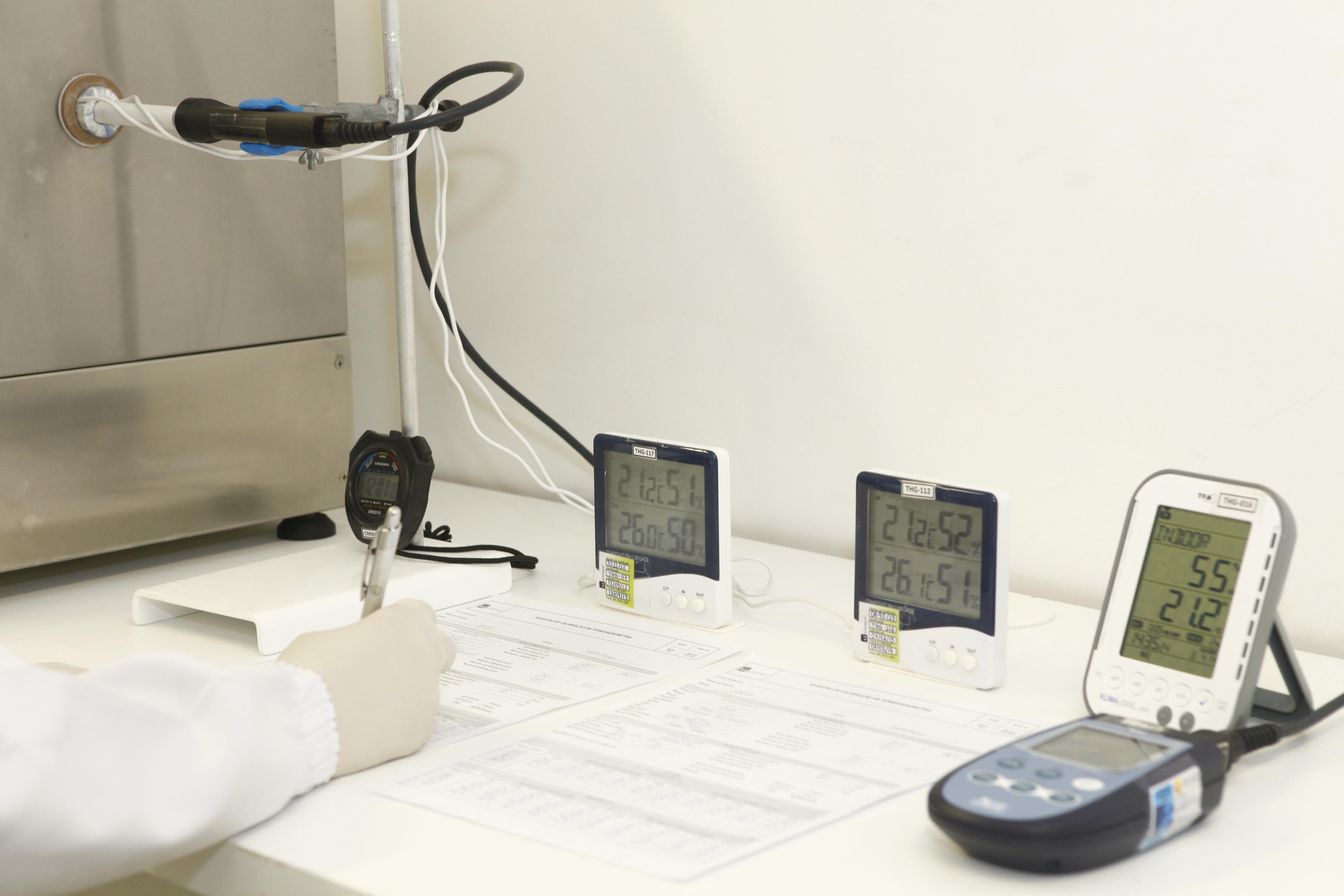 calibração de termometros