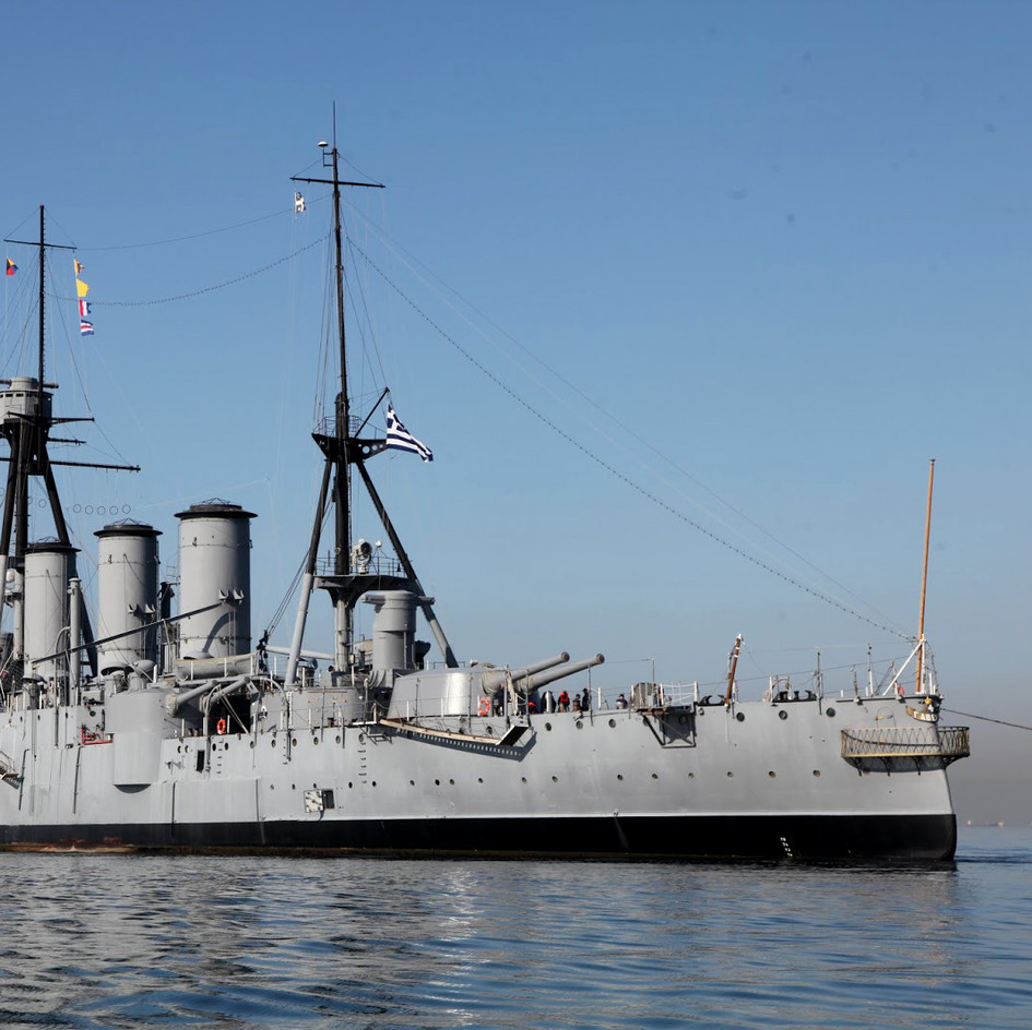 "Naval Museum Battleship ""Averof"" (2018)"