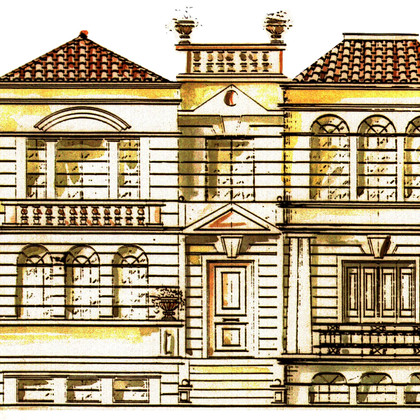 Villa Residence in Penteli (1994-95)