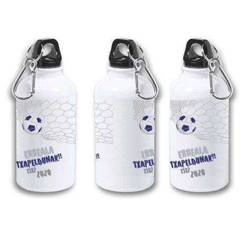 Botella de agua fría de aluminio de 400 ml.