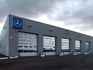 Couverture et bardage Région Centre Eure et Loir Chartres - Garage Automobile - 2100 mètres carrés