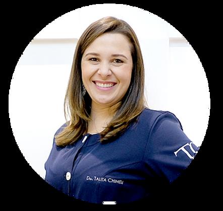 Talita Chimeli dentista especialista em odontologia estética, facetas em porcelana, coroa e cirurgia plástica na gengiva