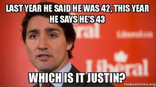 Dear Mr. Trudeau: Please don't make us look like assholes
