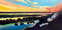 River Twilight