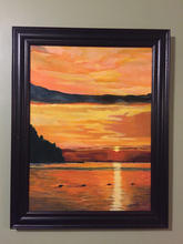 Sunset Sister Bay