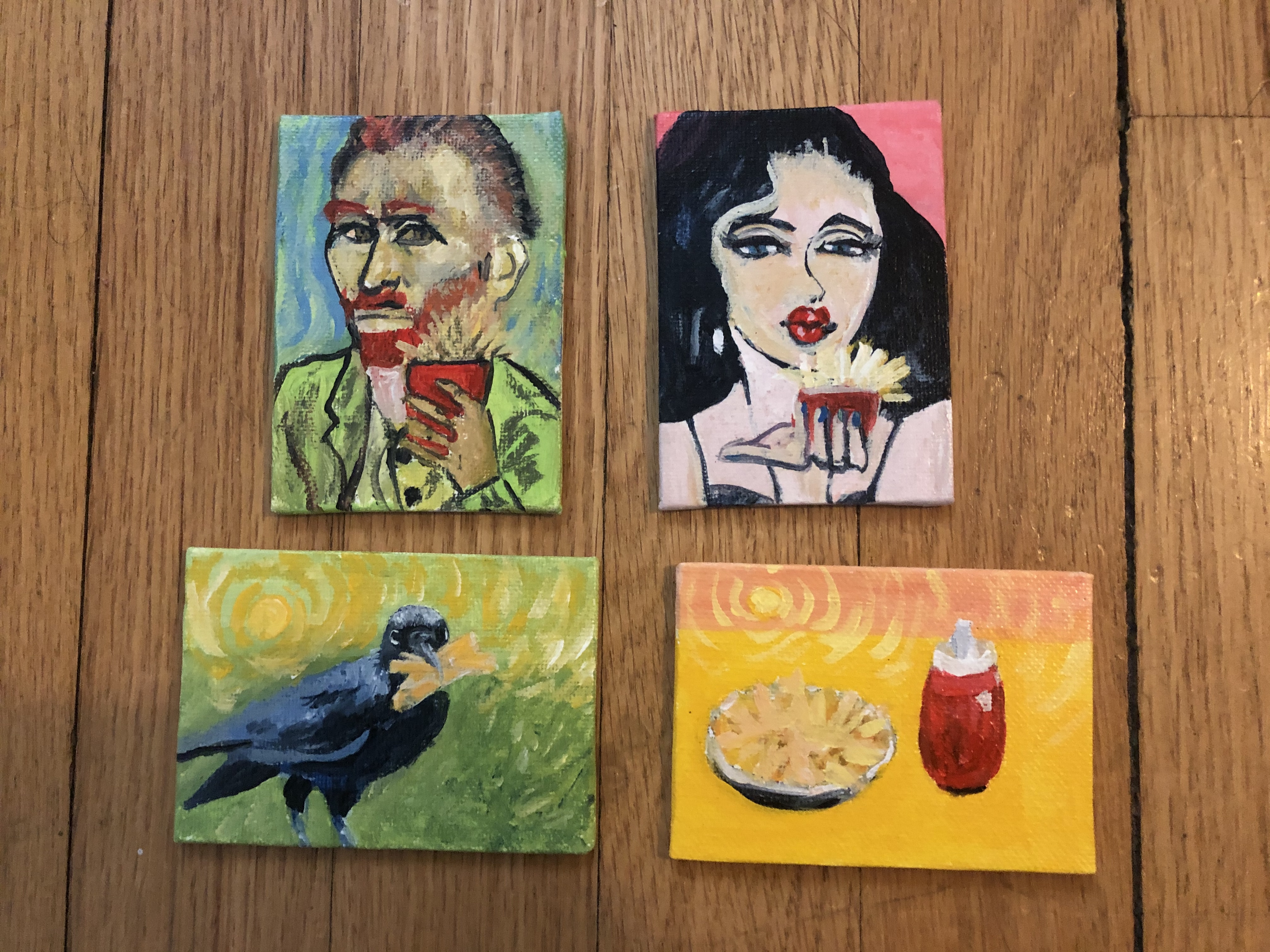 Pop Art Fries