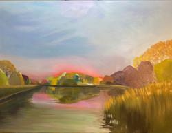 Humboldt Park Lagoon Sunrise