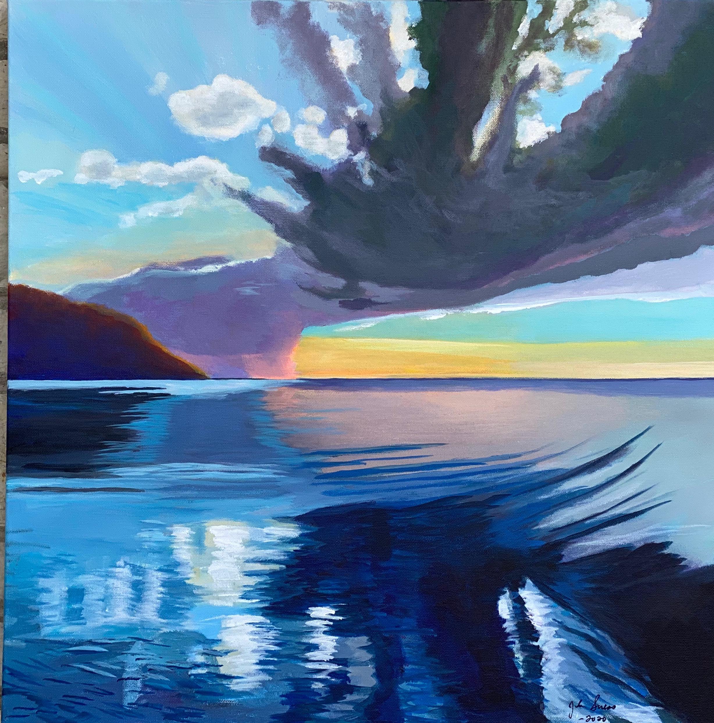 Summer Squall Green Bay