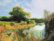 Wisconsin Landscape, Landcape Painting, John Suess, KettleMoraine, Kettle Moraine Golf, Kettle Moraine Painting