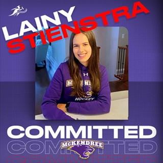 Lainy Stienstra signs with McKendree University Hockey