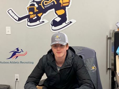 Ewan McPherson commits to the Spruce Grove Saints of the AJHL.