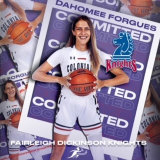 Dahomee Forgues signs with FDU!!