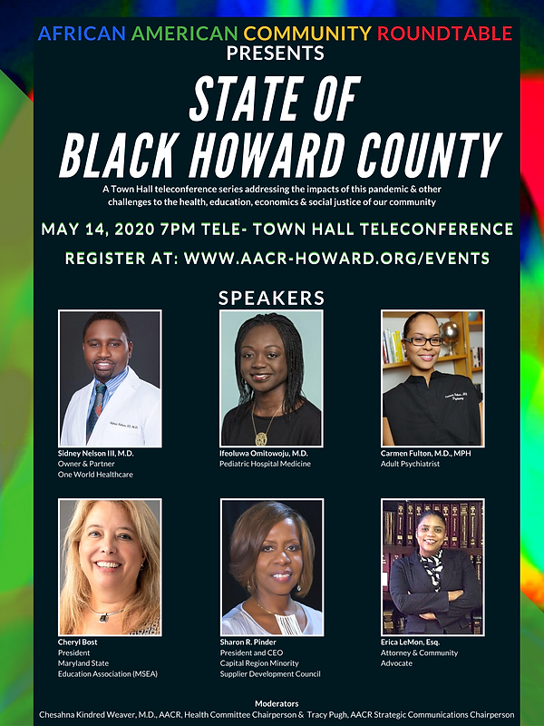AACR State of Black Howard TeleTown Hall
