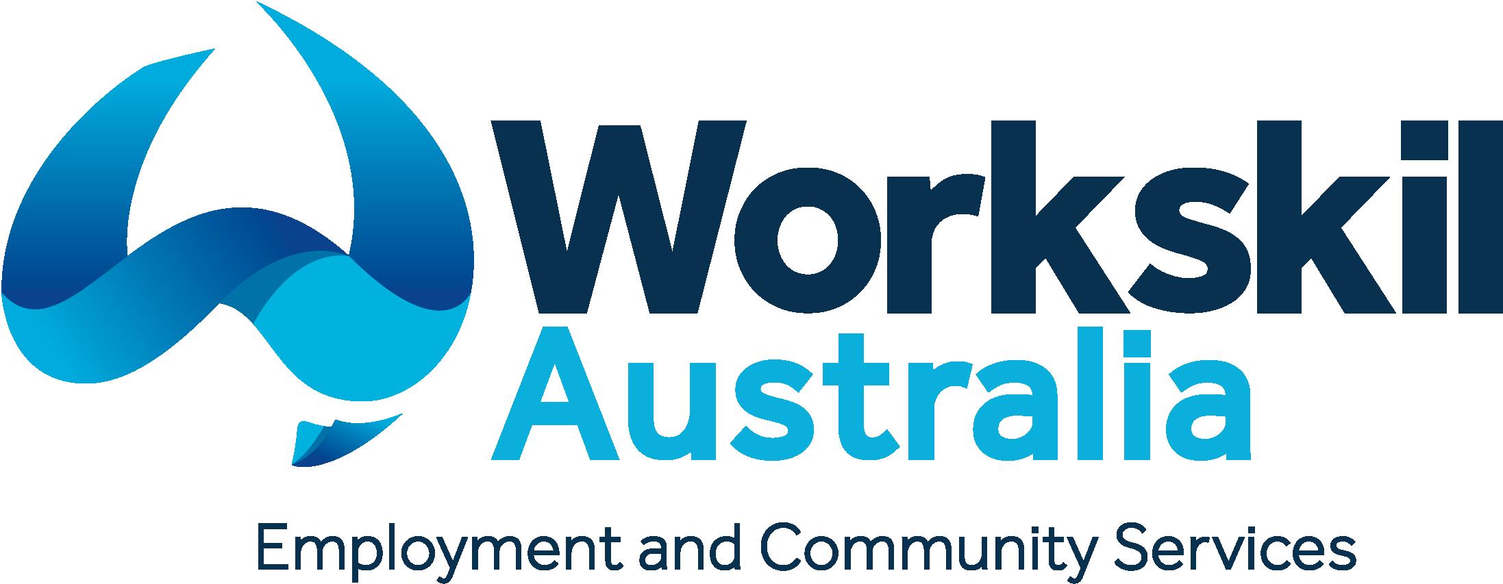 Workskil Australia+Tagline- Navy