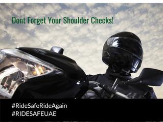 Don't forget your shoulder checks!