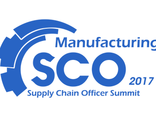 Manufacturing Supply Chain Officer Summit 8 - 9 June 2017 - Singapore