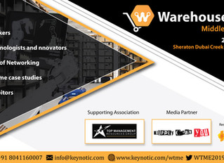 Warehouse Tech Middle East 22nd July 2019 - Dubai