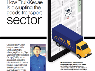 How TruKKer.ae is disrupting the goods transport sector