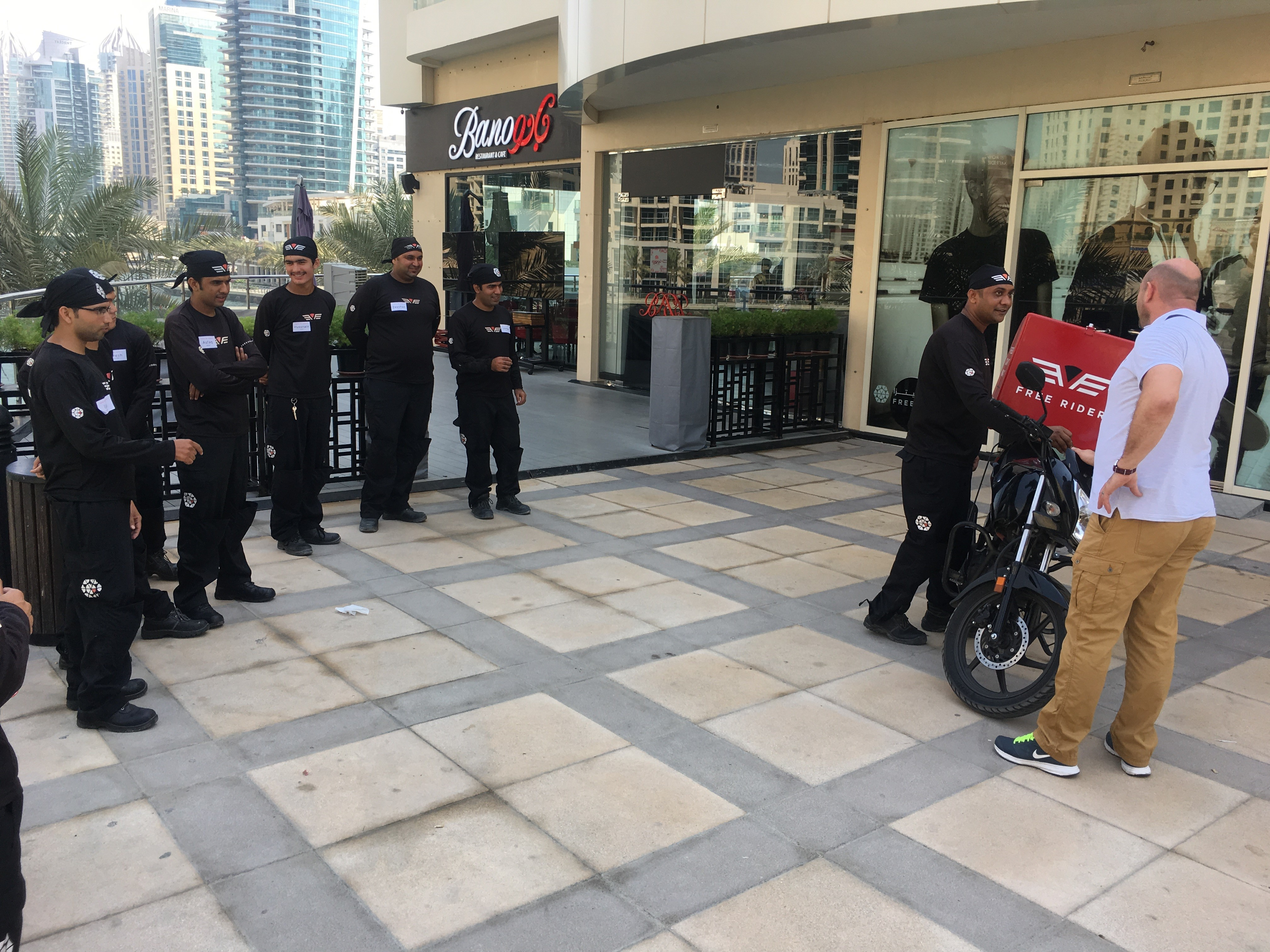 Delivery Rider Safety Awareness
