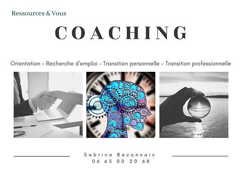 1 séance de Coaching - 1h30